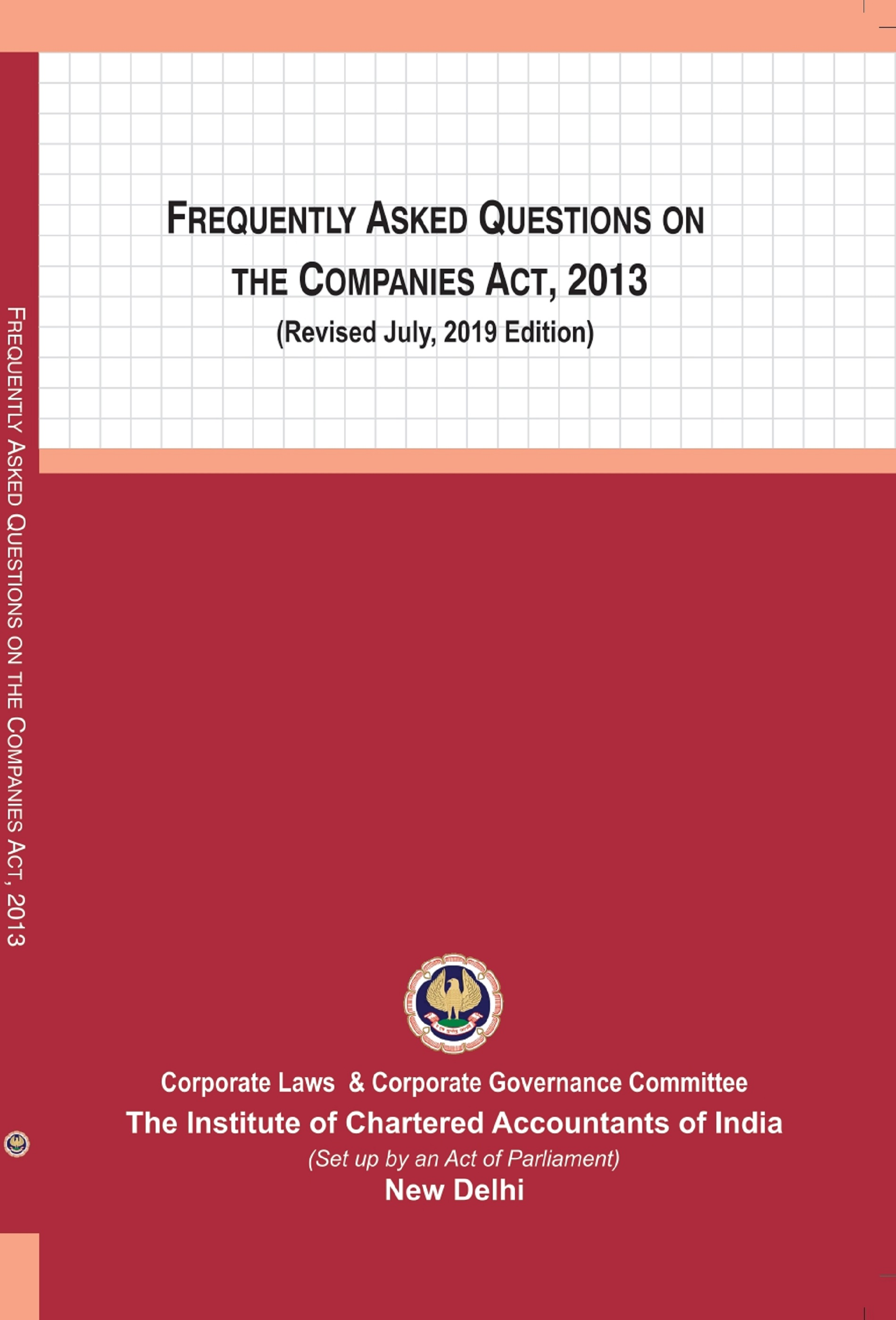 Frequently Asked Questions on The Companies Act, 2013 (Revised July, 2019 Edition)