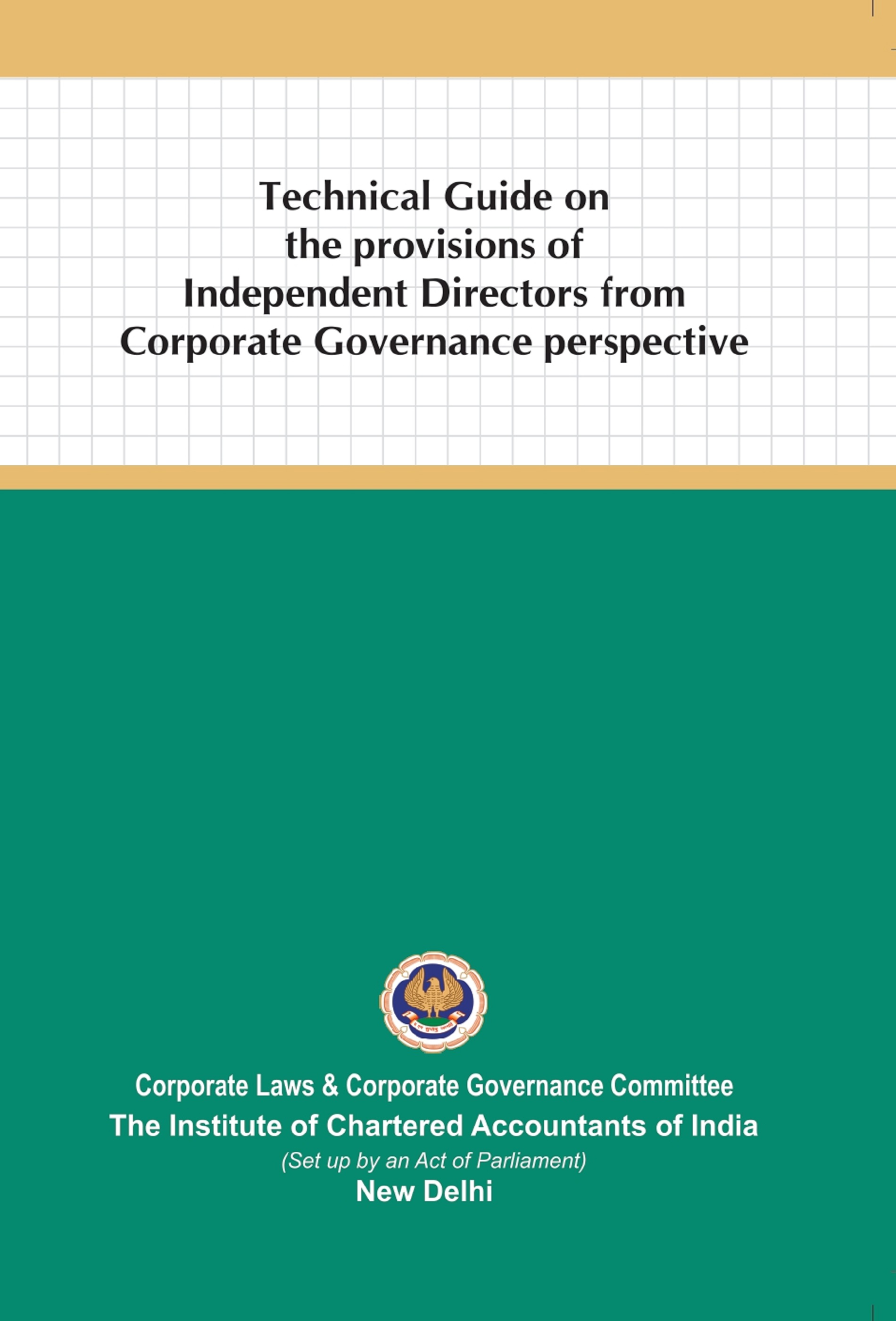 Technical Guide on the provisions of Independent Directors from Corporate Governance Perspective (January, 2021)