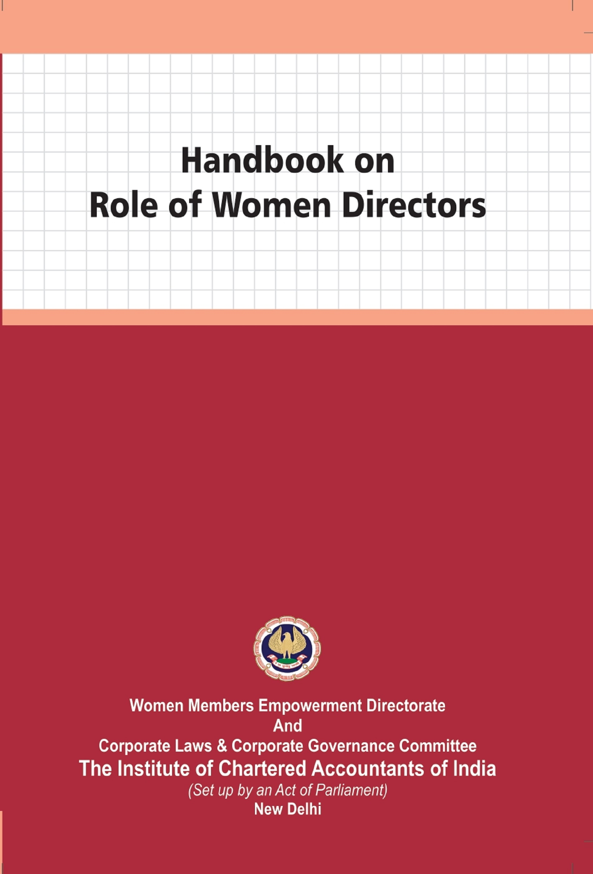 Handbook on Role of Women Directors (January, 2021)