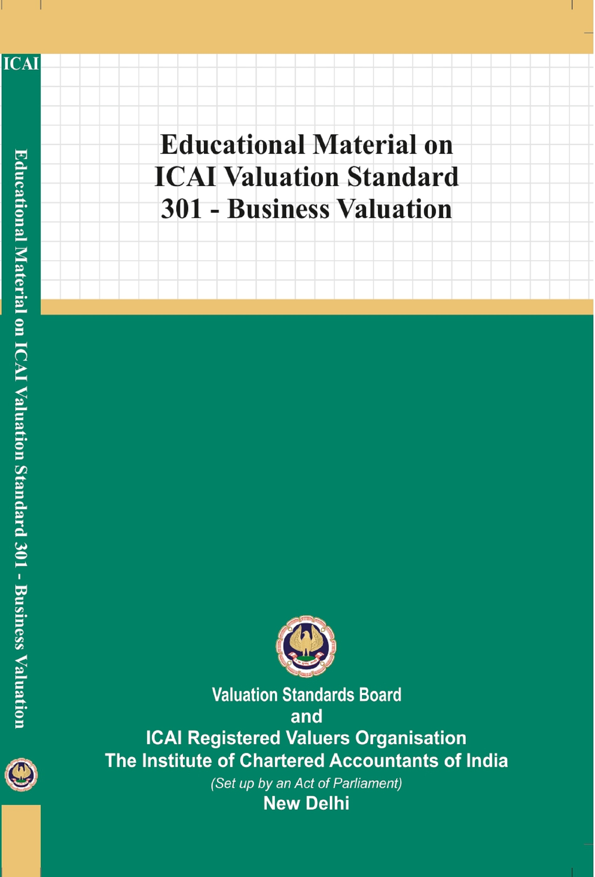 Educational Material on ICAI Valuation Standard 301 - Business Valuation (February, 2021)