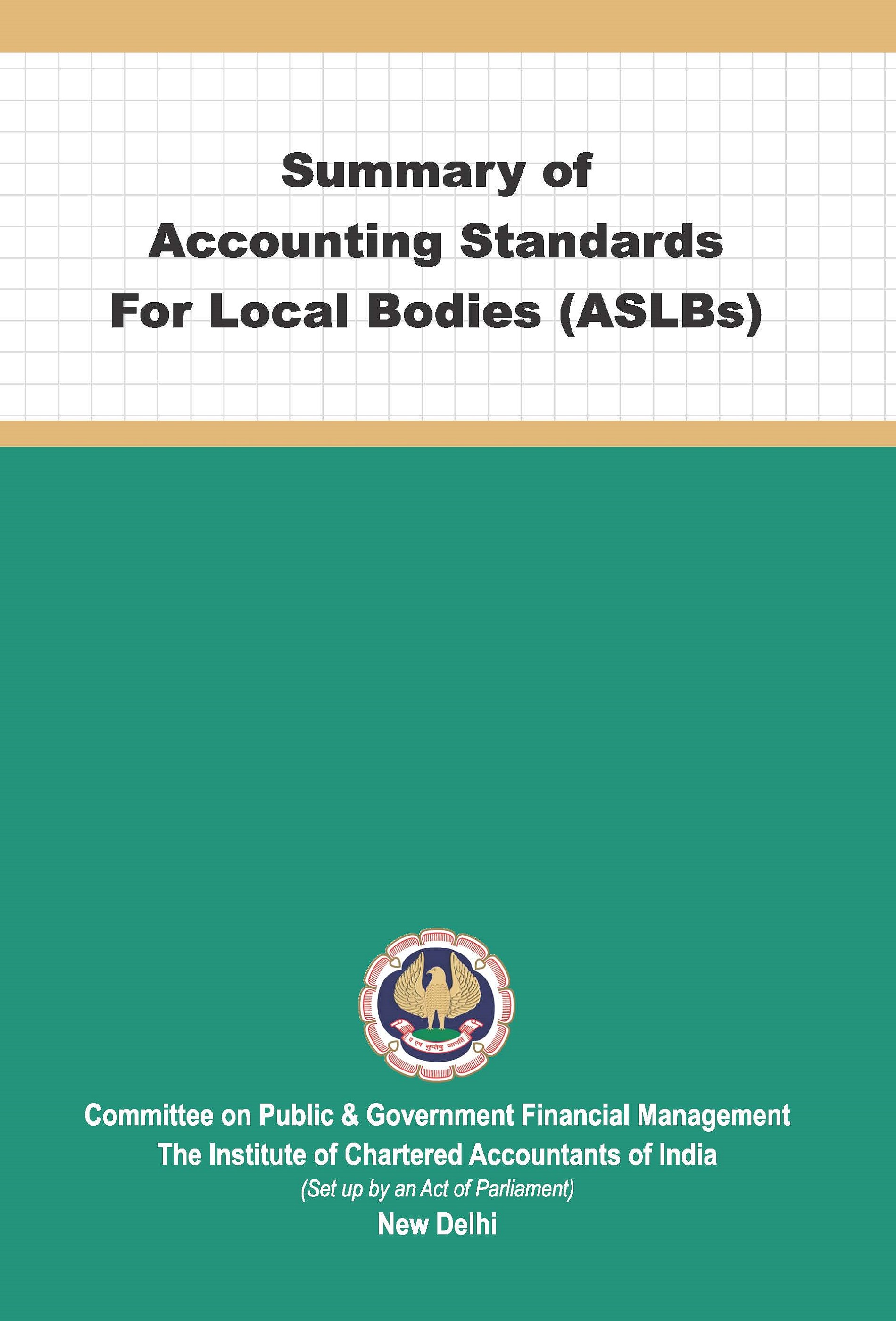 Summary of Accounting Standards for Local Bodies (ASLBs) (July, 2021)