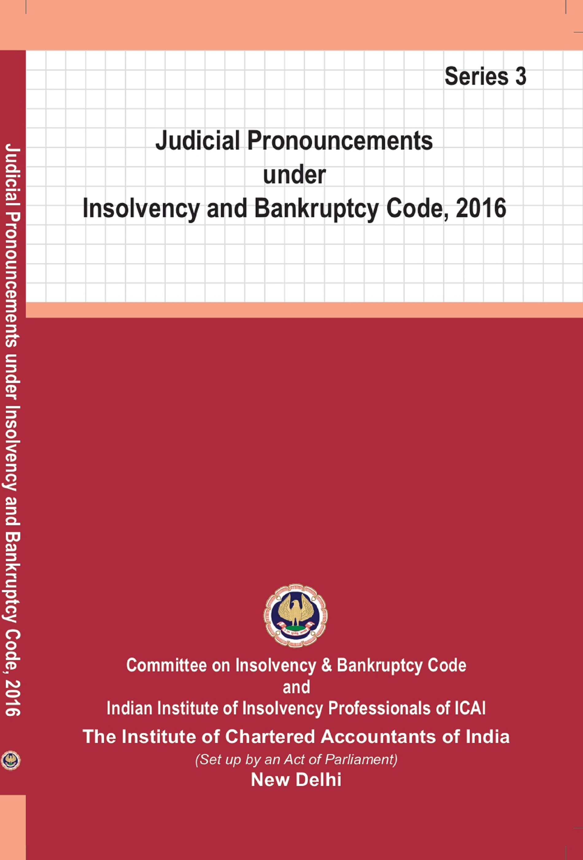 Judicial Pronouncements under Insolvency and Bankruptcy Code, 2016 (Series-3) (June, 2020)