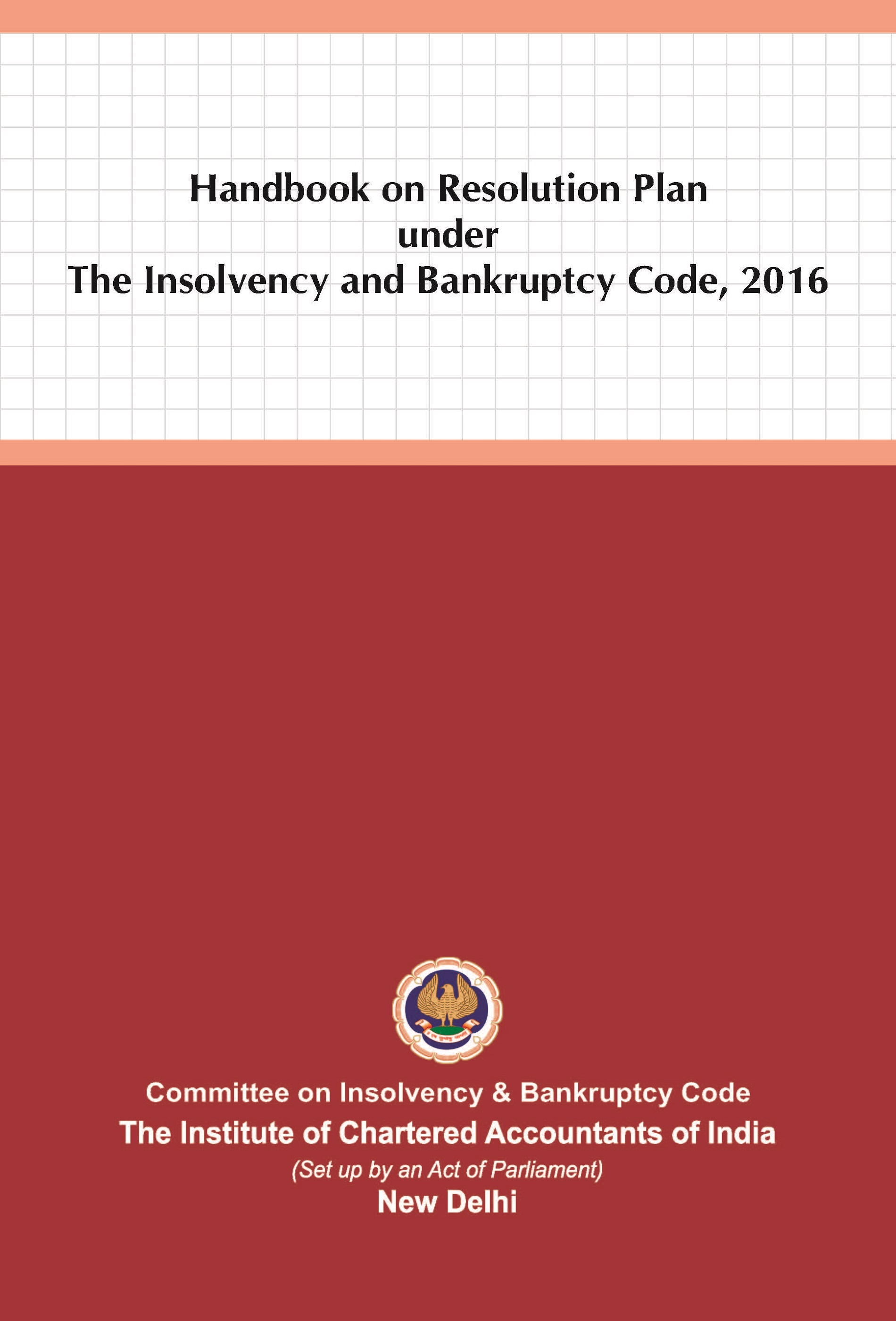 Handbook on Resolution Plan under The Insolvency and Bankruptcy Code, 2016 (June, 2021)