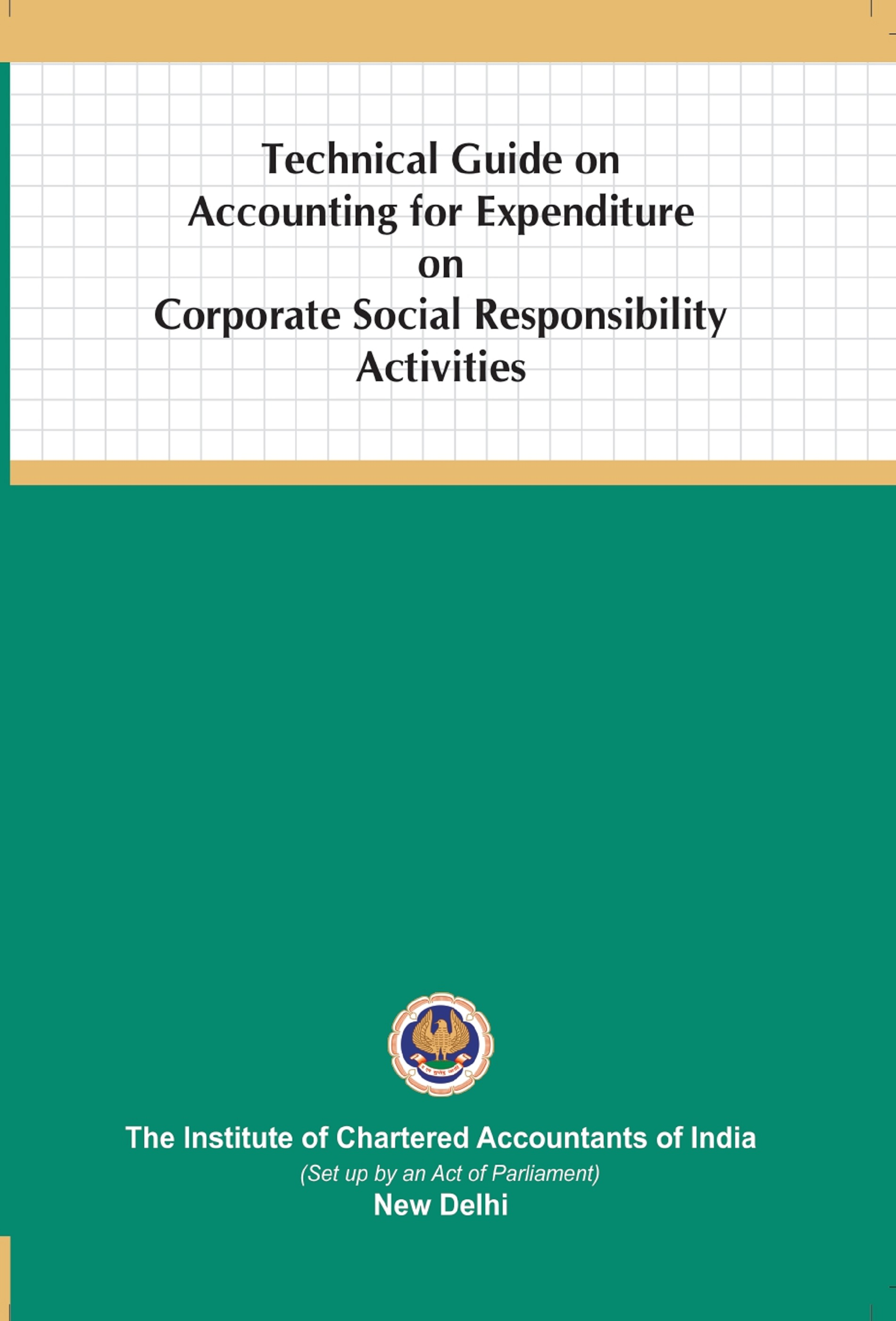 Technical Guide on Accounting for Expenditure on Corporate Social Responsibility Activities (June, 2020)