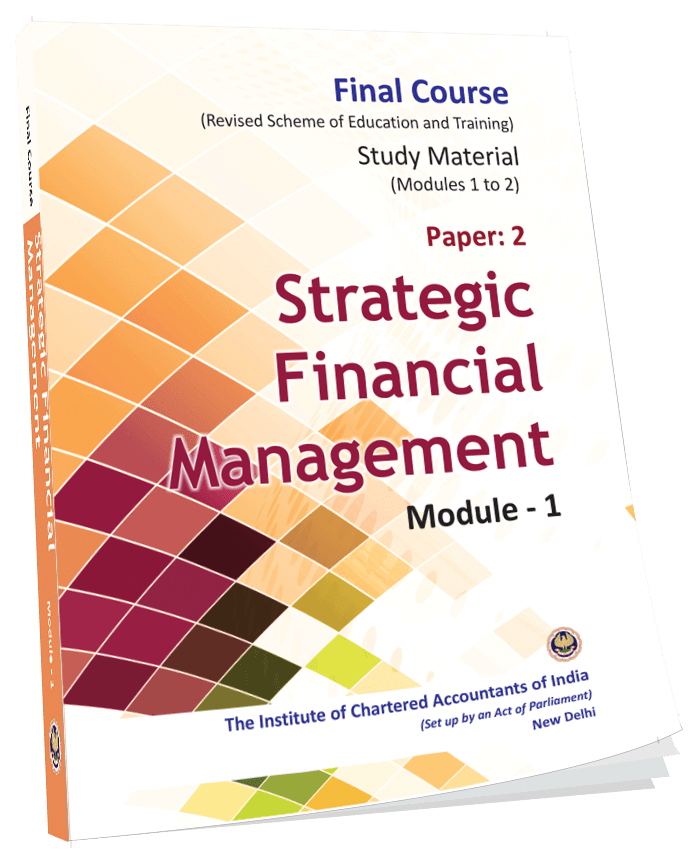 Strategic Financial Management - (Module 1-2), August, 2017