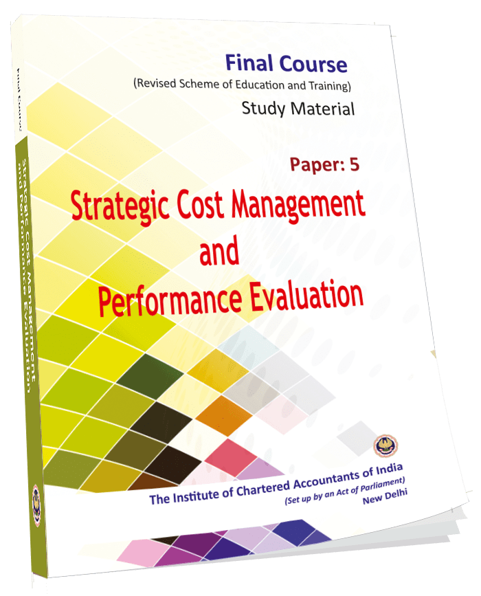 Strategic Cost Management and Performance Evaluation, August, 2017