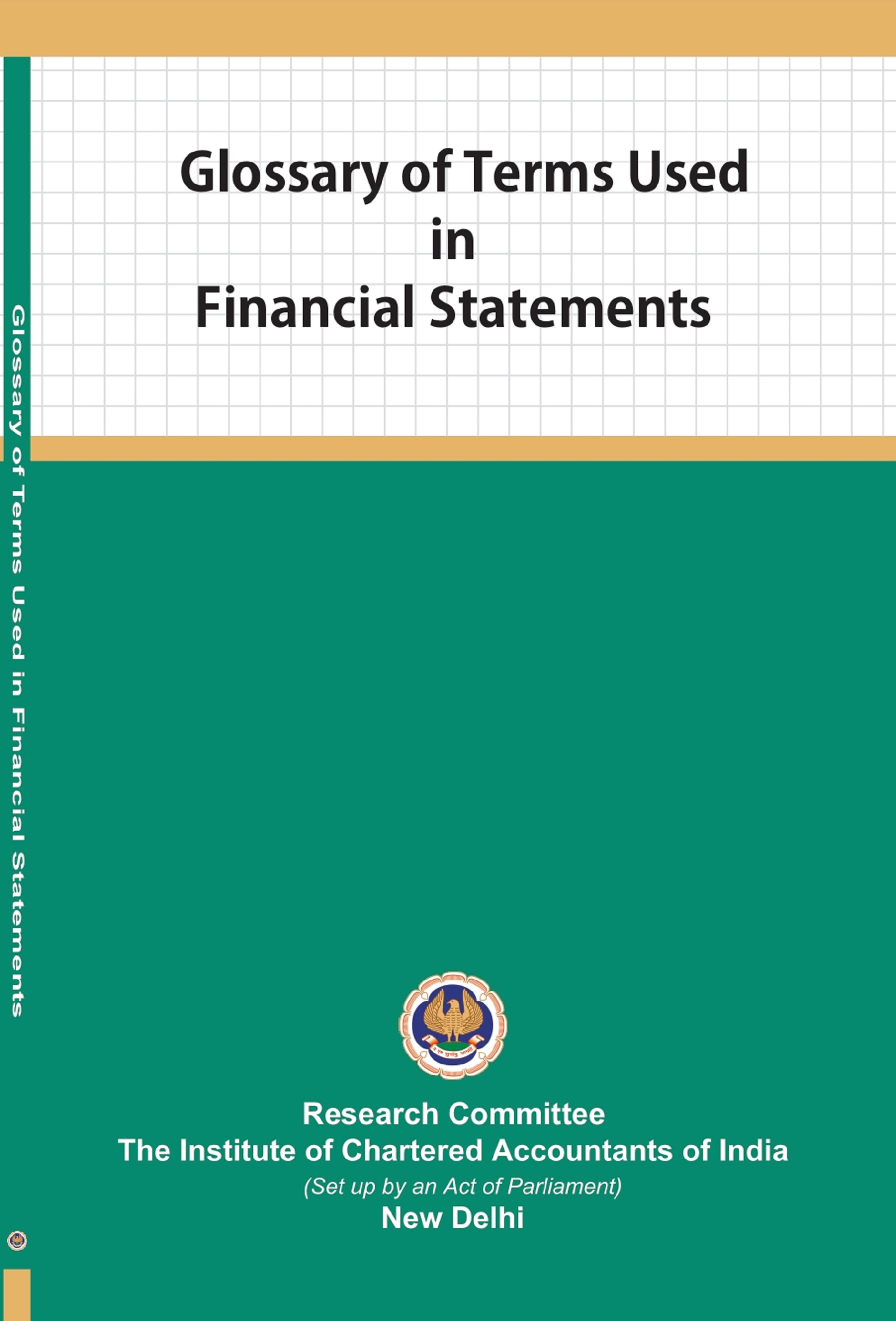 Glossary of Terms Used in Financial Statements (July, 2019)