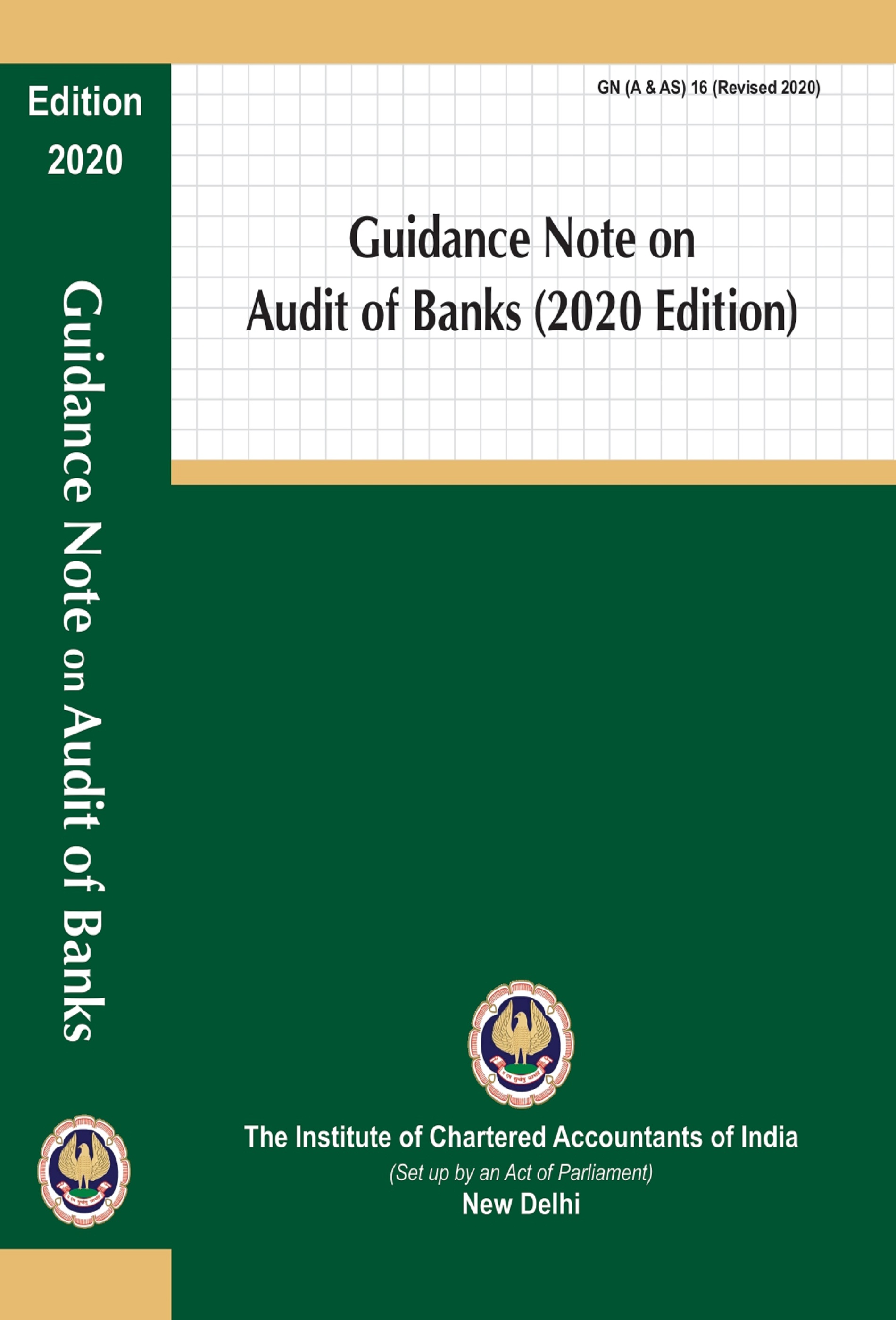 Guidance Note on Audit of Banks (2020 Edition)