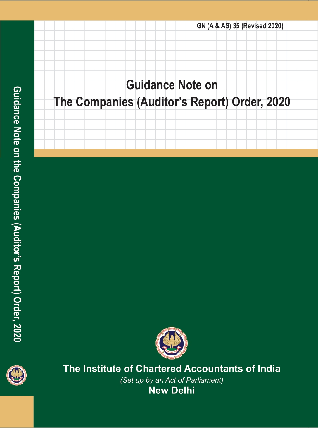Guidance Note on The Companies (Auditor's Report) Order, 2020 (June, 2020)