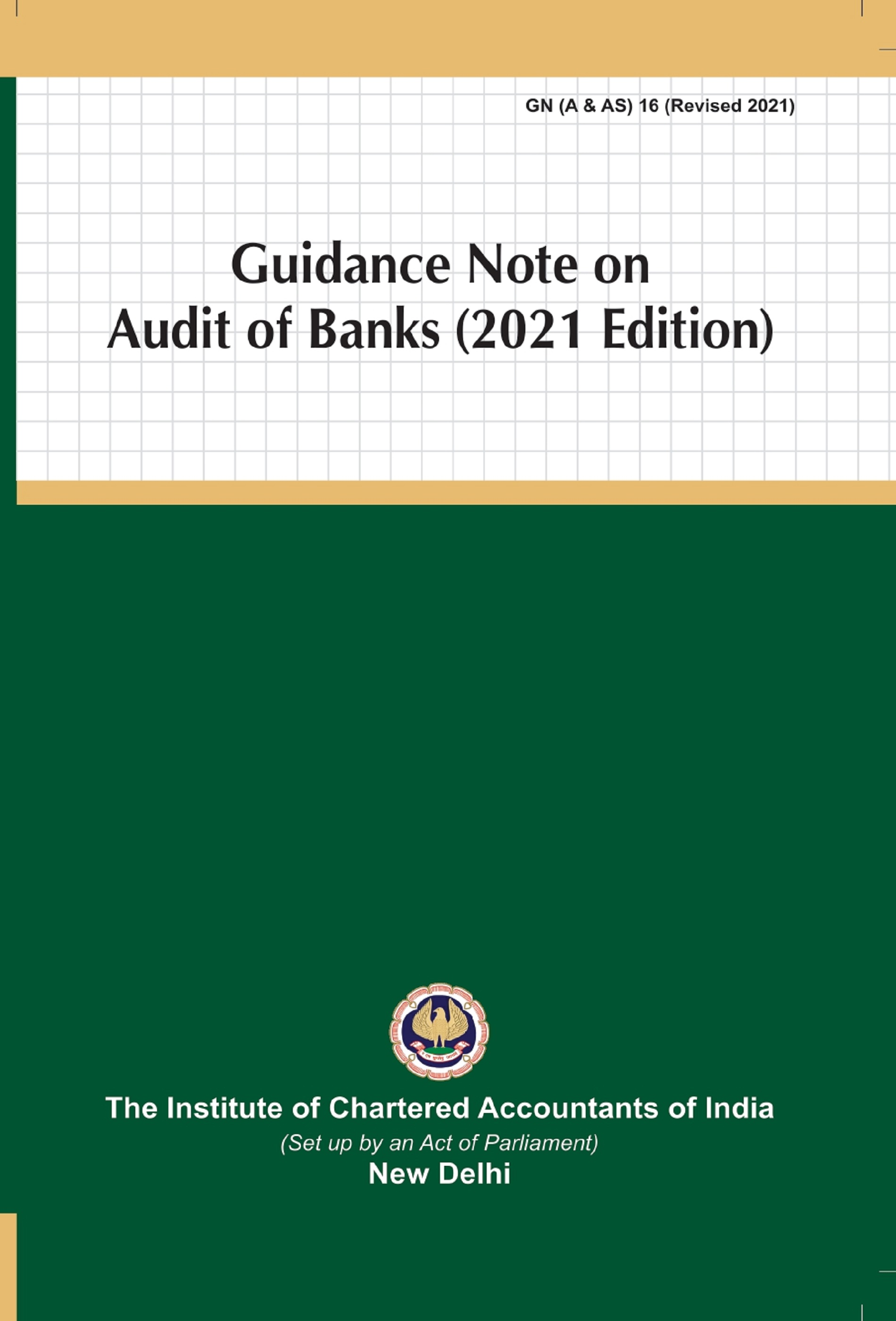 Guidance Note on Audit of Banks (2021 Edition)