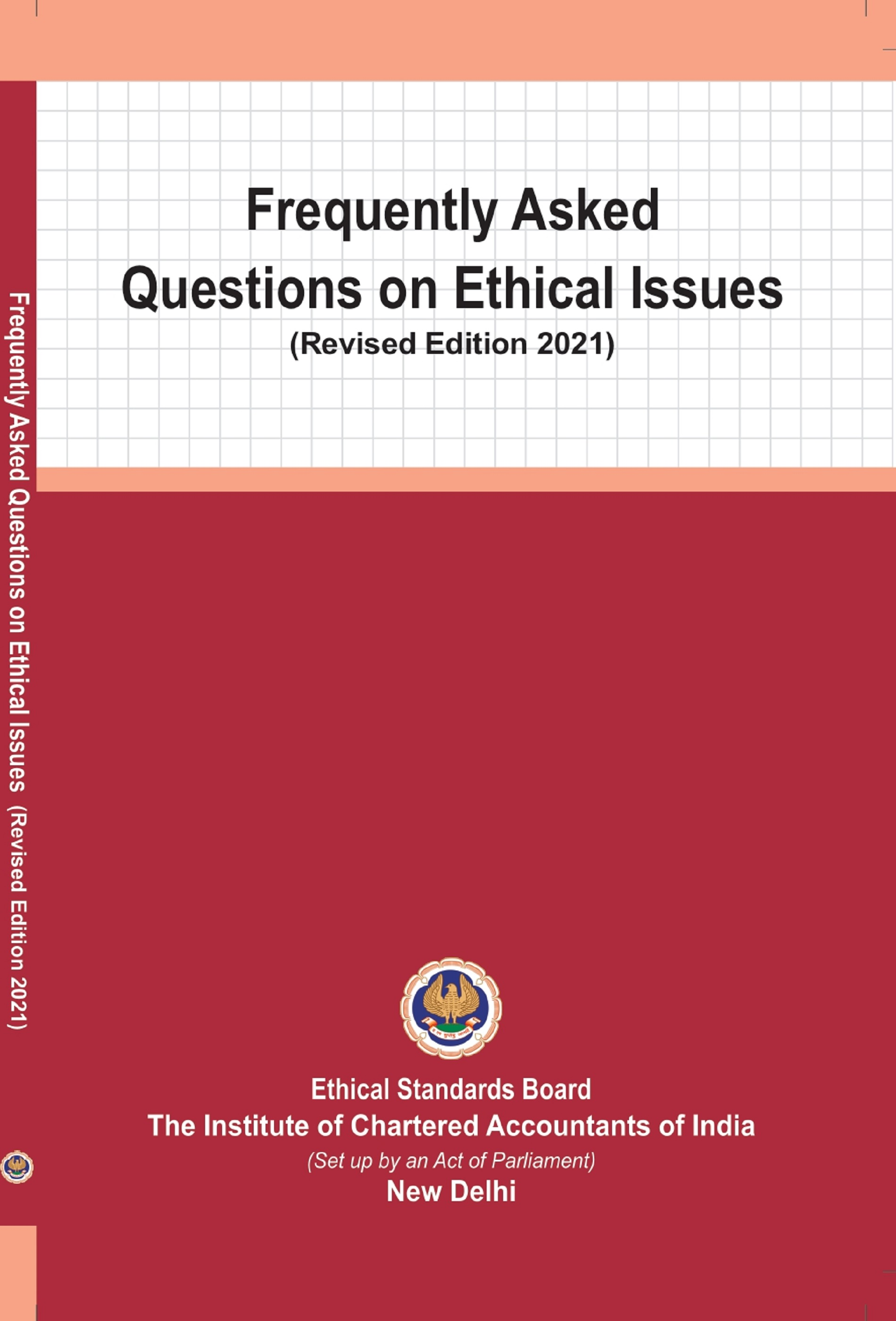 Frequently Asked Questions on Ethical Issues (Revised Edition 2021)