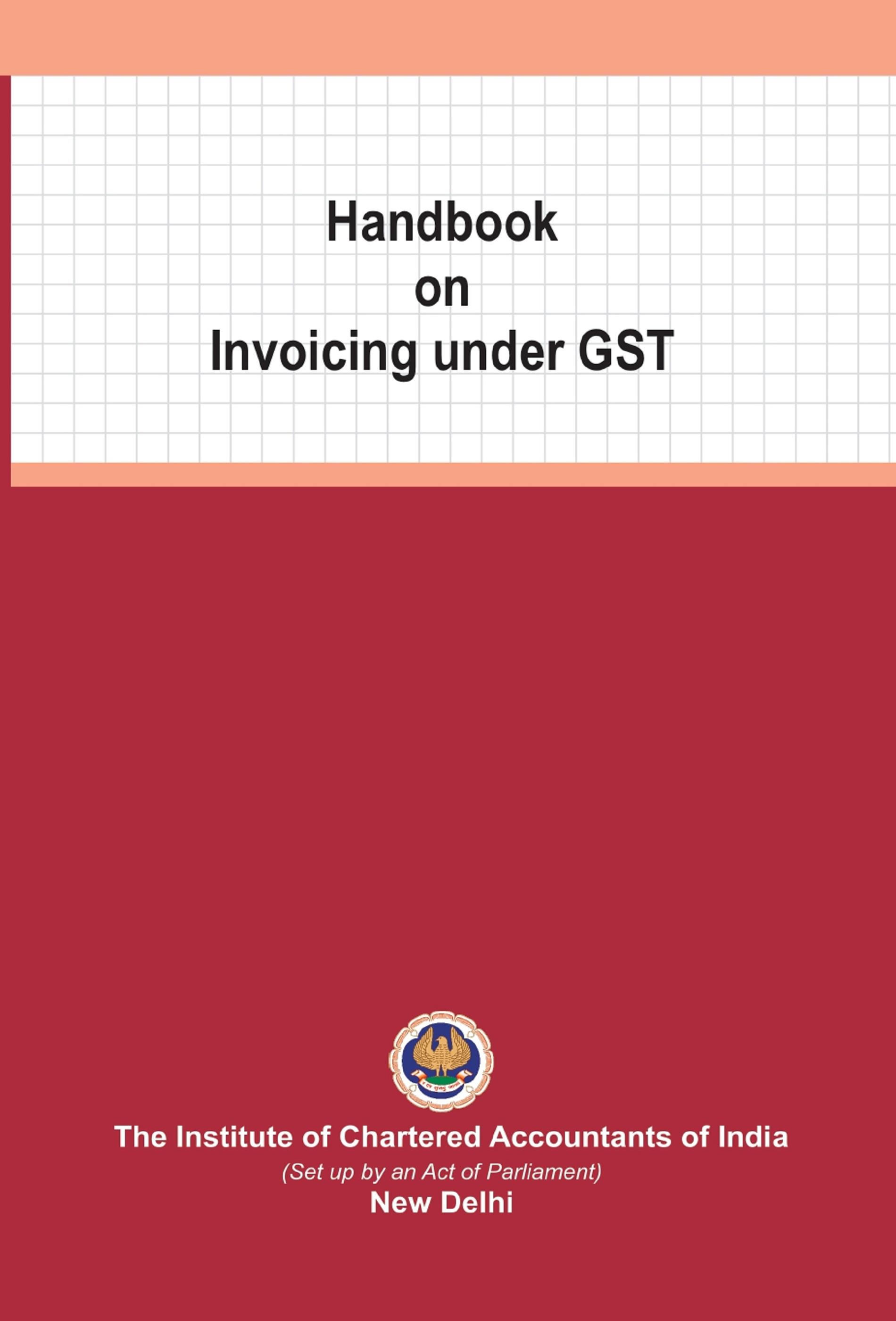 Handbook on Invoicing under GST (May, 2020)