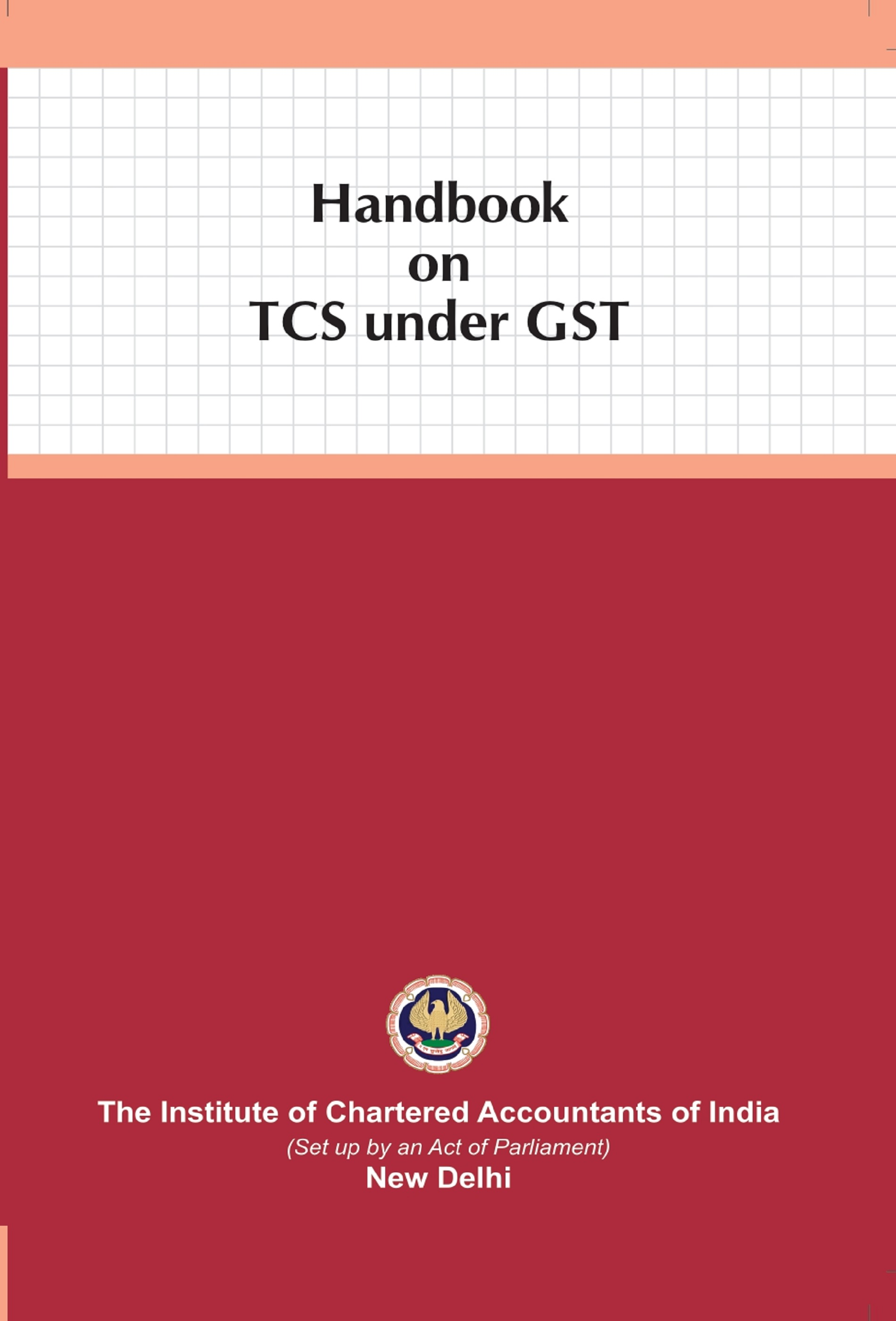 Handbook on TCS under GST (August, 2020 Edition)