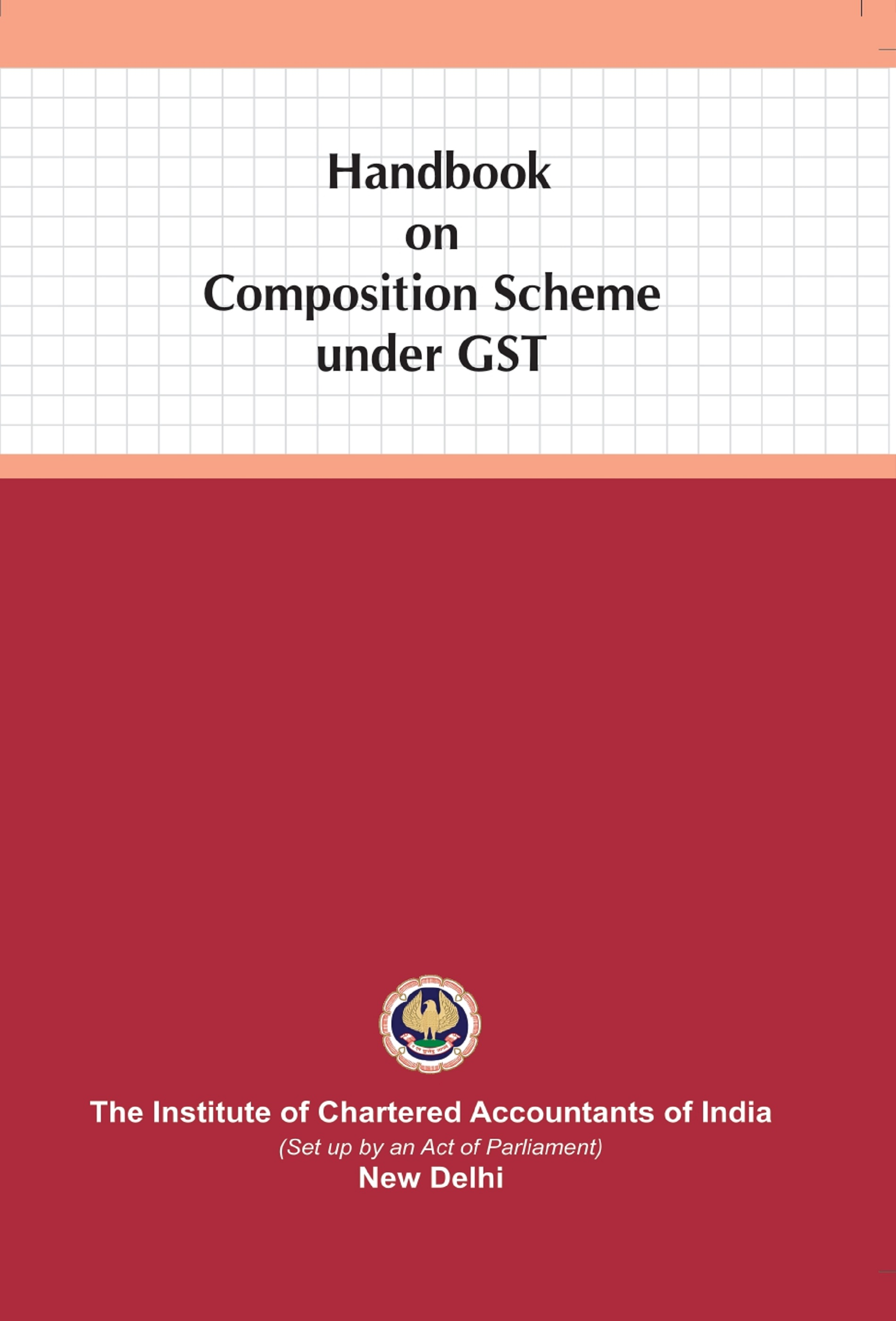 Handbook on Composition Scheme under GST (August, 2020 Edition)