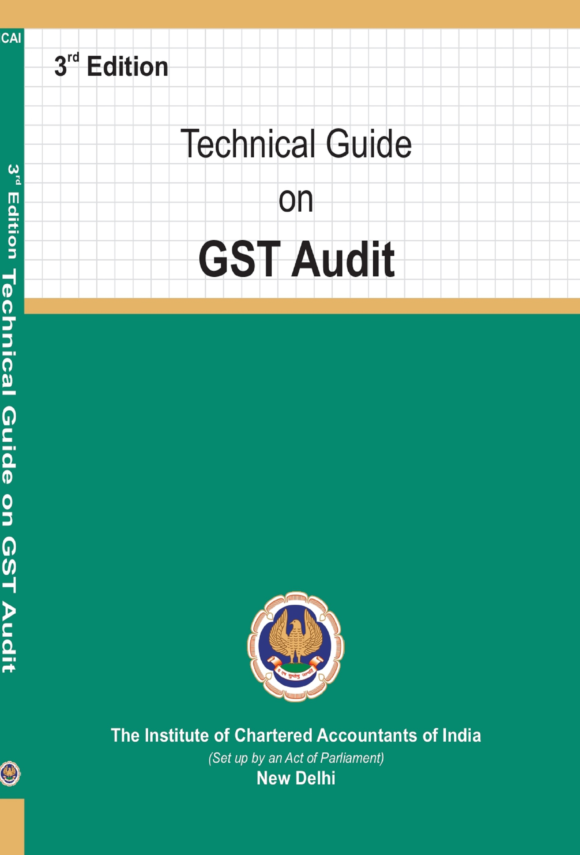 Technical Guide on GST Audit (January, 2021)