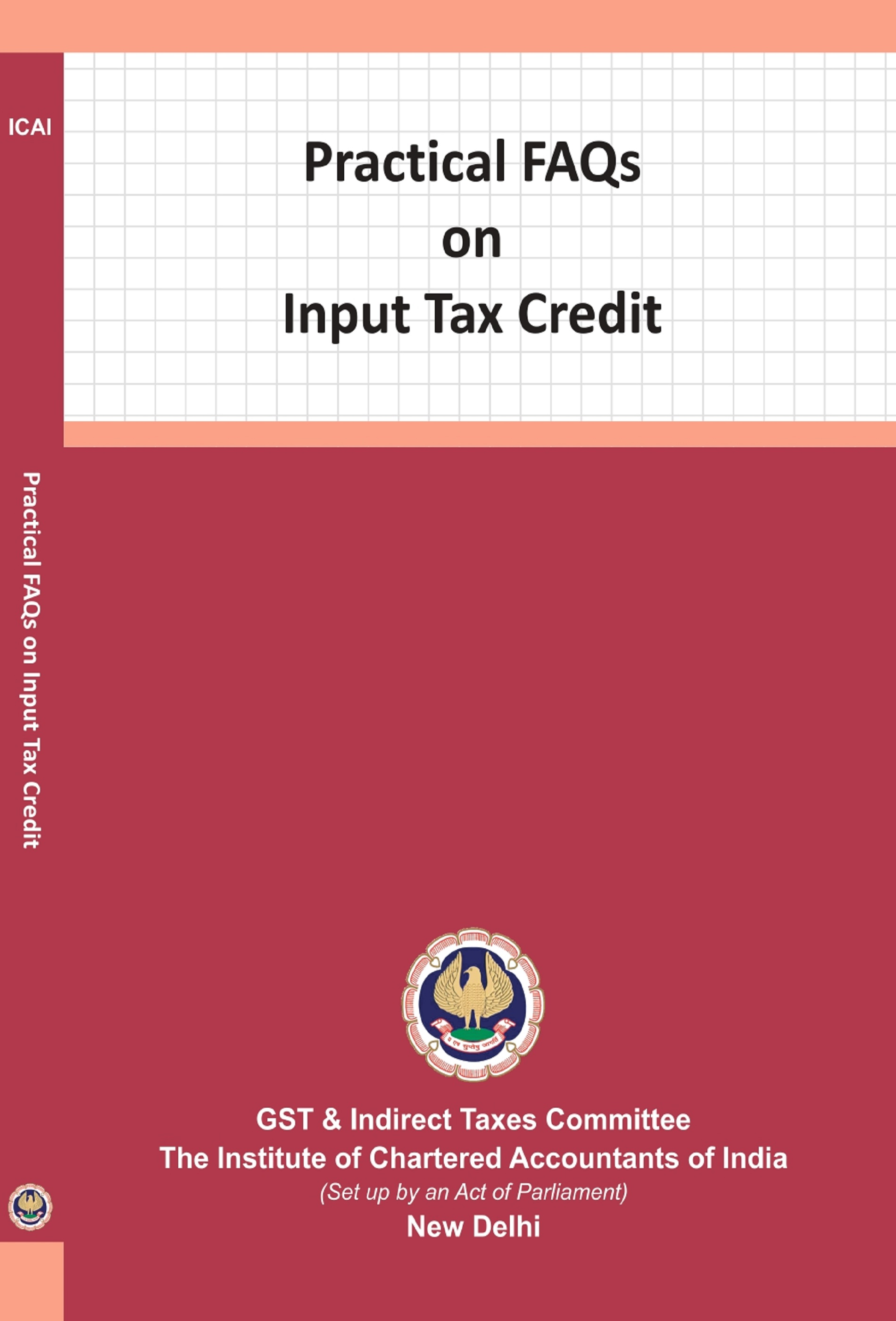 Practical FAQs on Input Tax Credit (July, 2021)