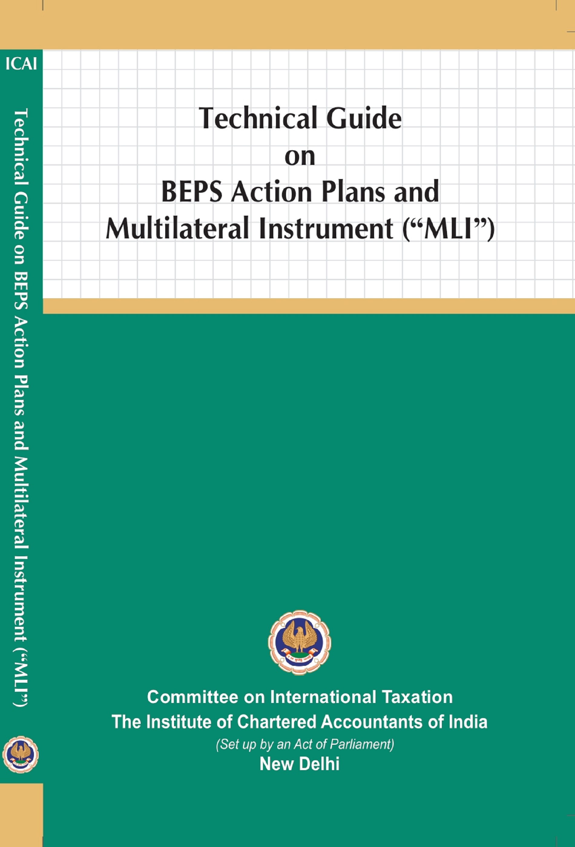 Technical Guide on BEPS Action Plans and Multilateral Instrument (MLI) September, 2020