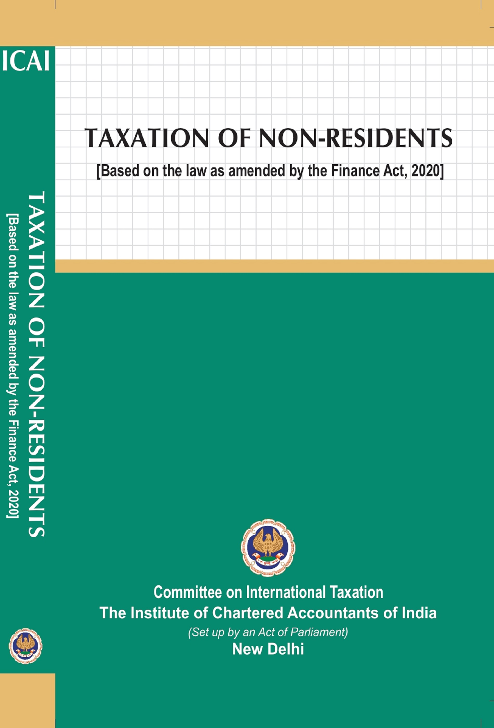 Taxation of Non-Residents (Based on the law as amended by the Finance Act, 2020) (February, 2021)