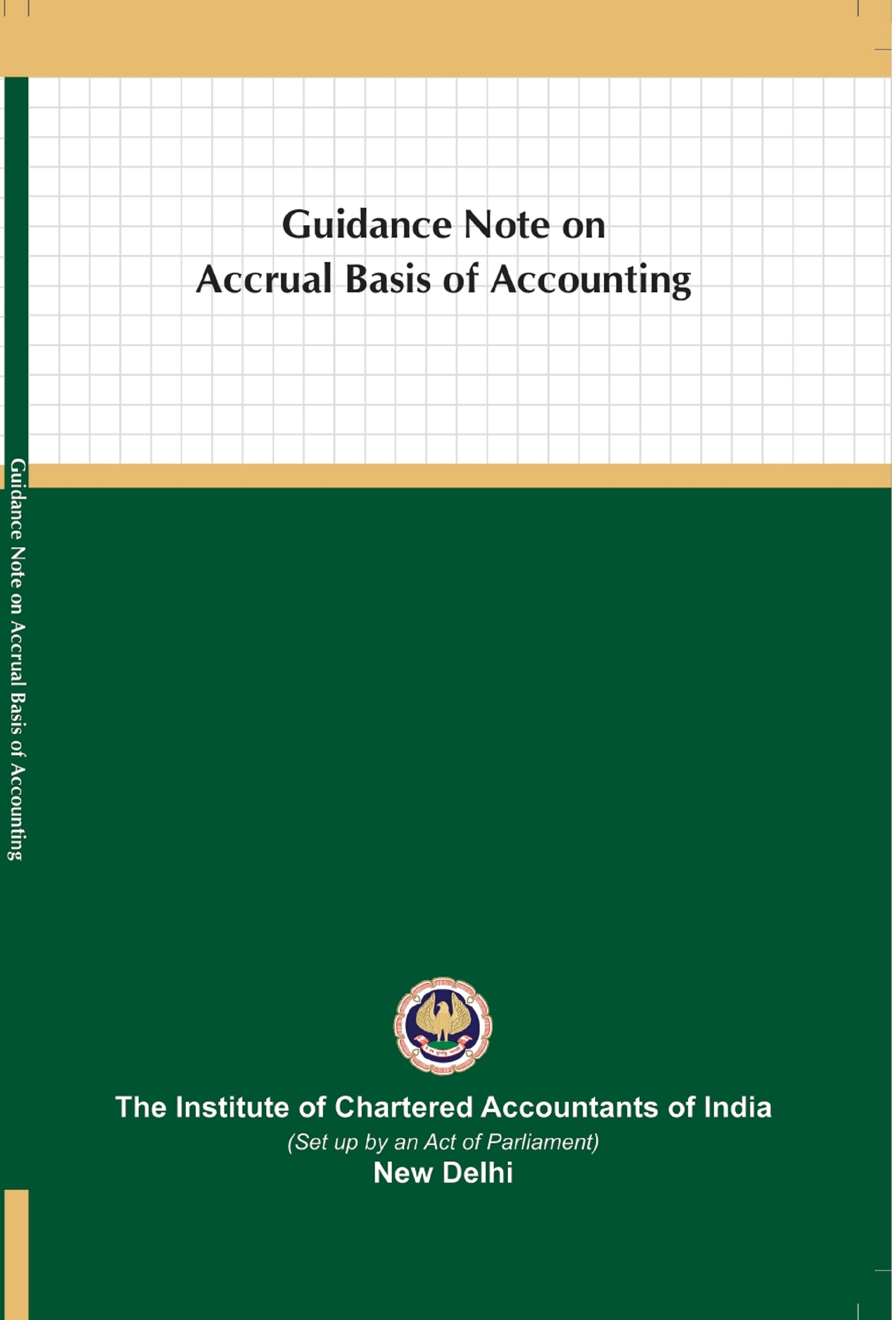 Guidance Note on Accrual Basis of Accounting (January, 2021)