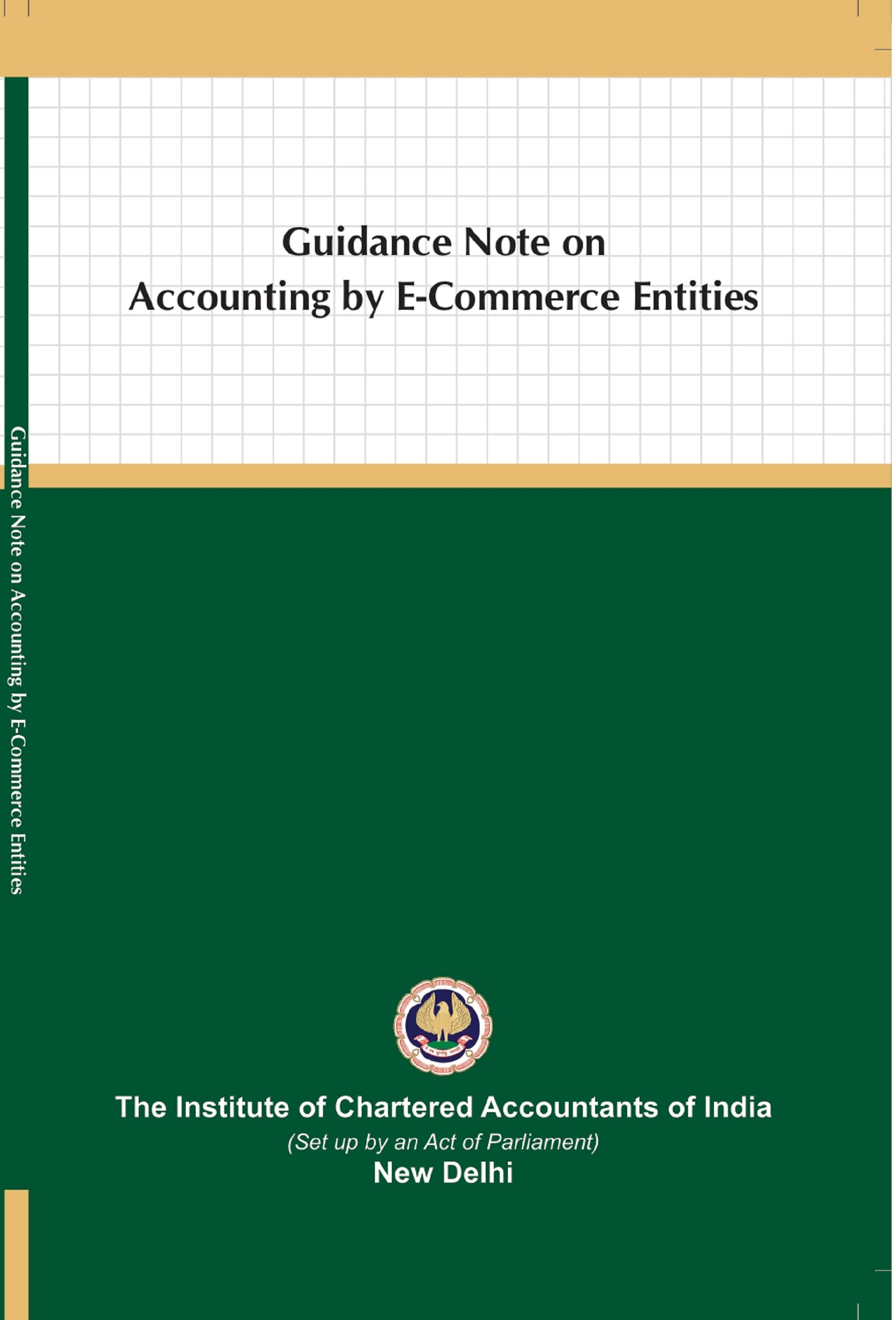 Guidance Note on Accounting by E-Commerce Entities (January, 2021)