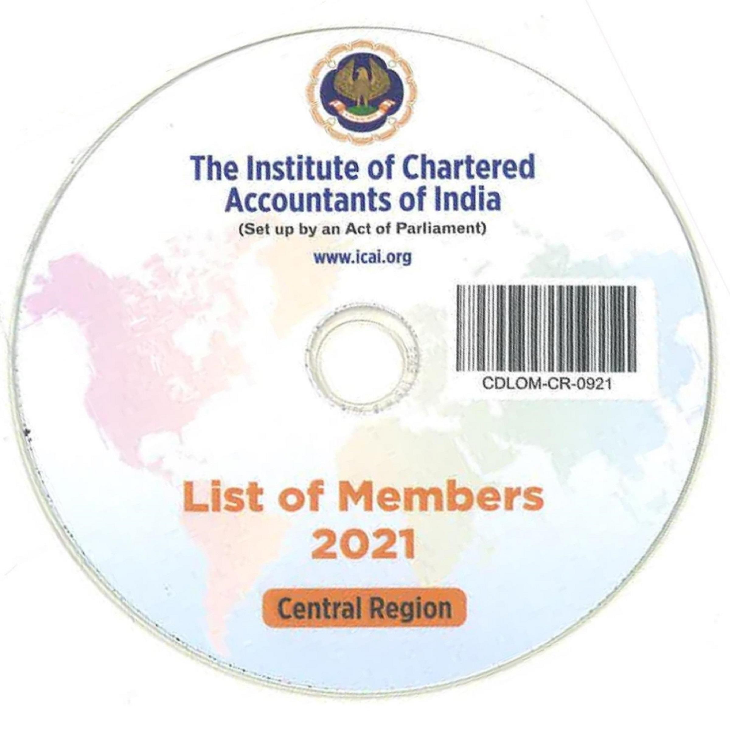 CD-List of Members, 2021 (Central Region)