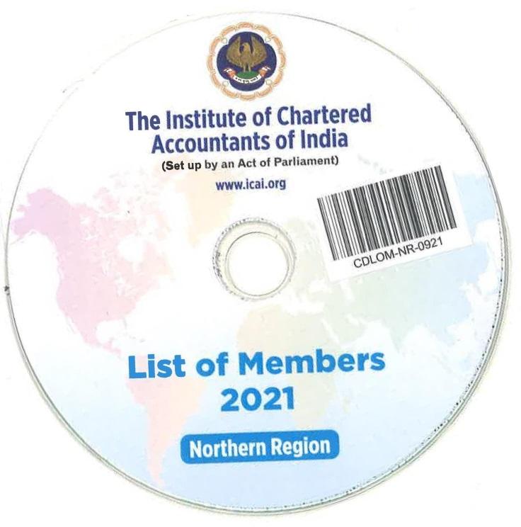 CD-List of Members, 2021 (Northern Region)