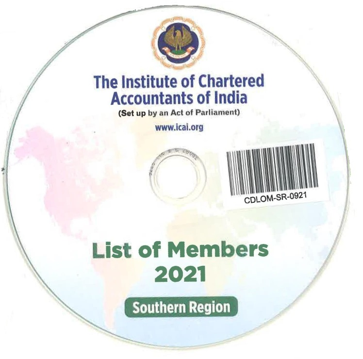 CD-List of Members, 2021 (Southern Region)