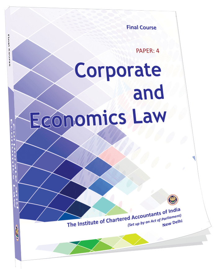 Corporate and Economic Laws - (Module 1-3), August, 2017