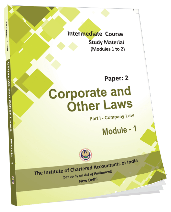Corporate Laws & Other Laws - (Part-1&2) - (English), July 2017