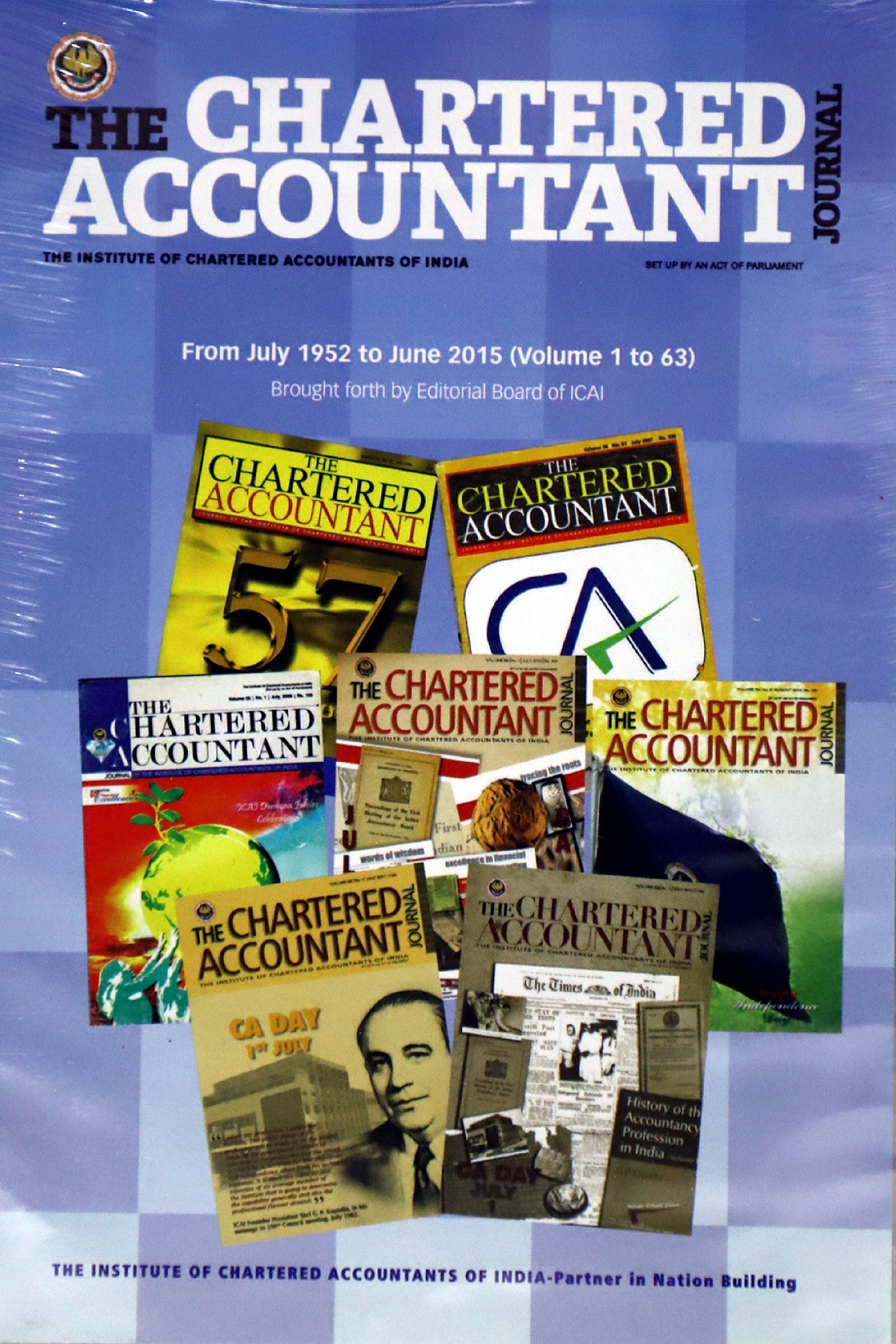 DVD CA Journal July 1952 to June 2015 (Vol. 1 to 63)