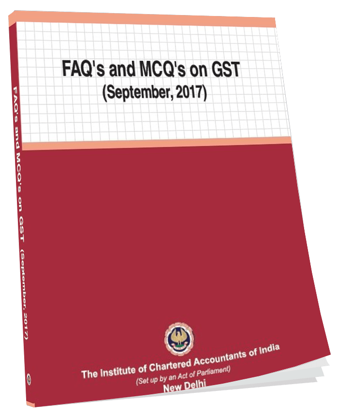 FAQs and MCQs on GST Septmber, 2017