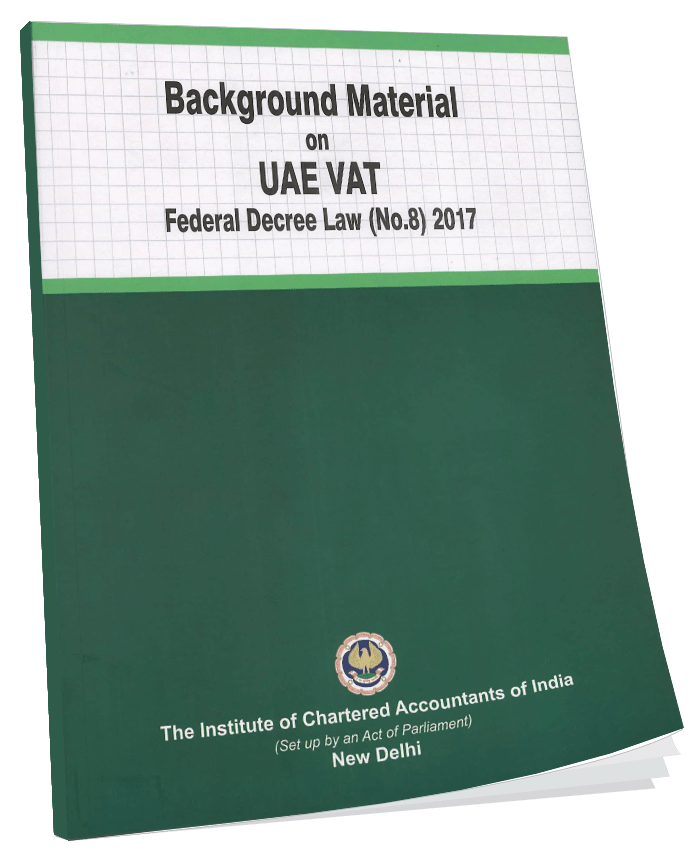 ackground Material on UAE VAT Federal Decree Law (No.8)  September, 2017